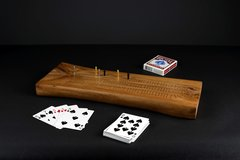 Arbutus wood Cribbage Boards