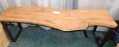 Arbutus Bench metal legs Sold