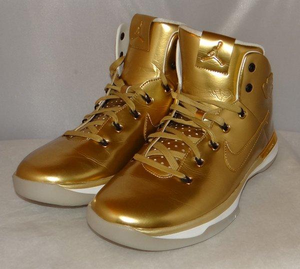 VERY RARE SAMPLE Air Jordan 31 Gold Size 12 #4358