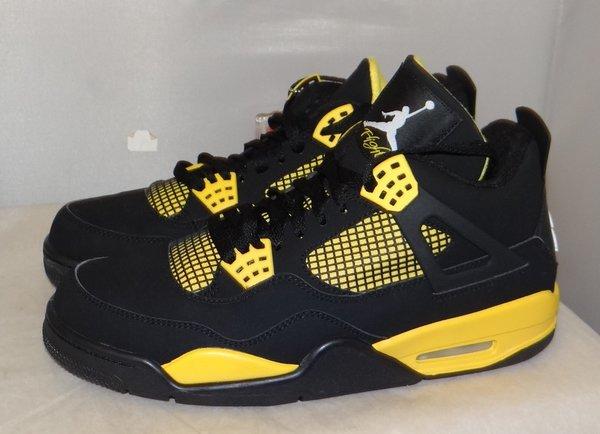 Air Jordan 4 Thunder Size 10 #4636 308497 008