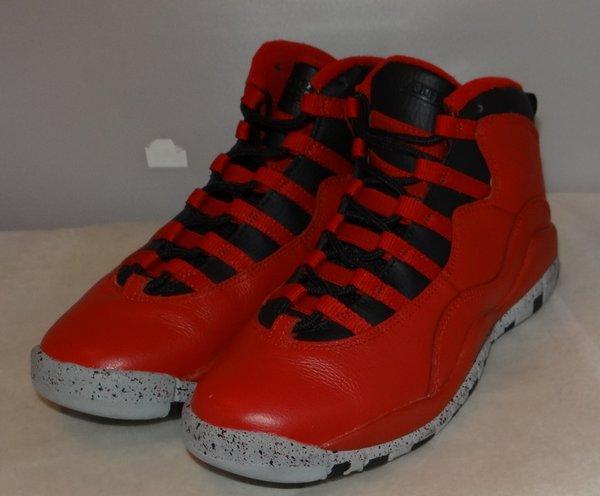 Air Jordan 10 Bulls Over Broadway Size 4.5 705179 401 #4482
