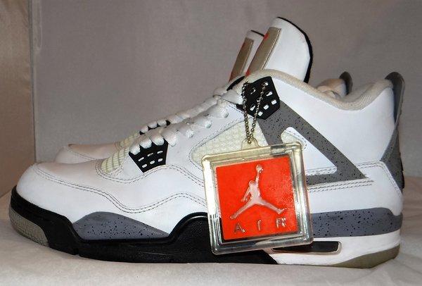 2012 Jordan 4 White Cement Size 8 #2940
