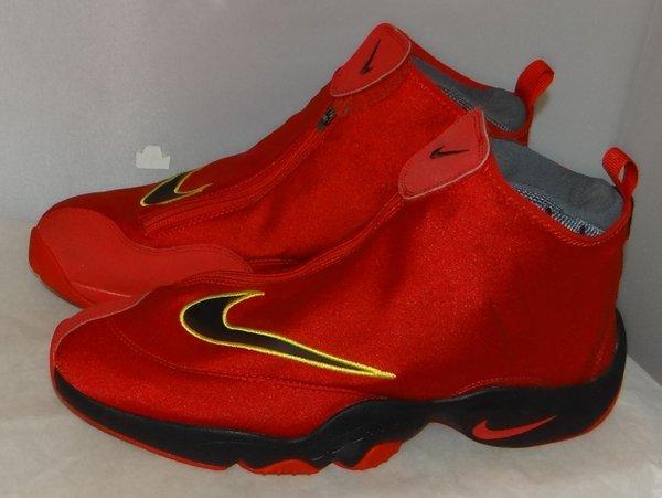Nike Zoom Gary Payton Red Size 12 616772 500 #4596