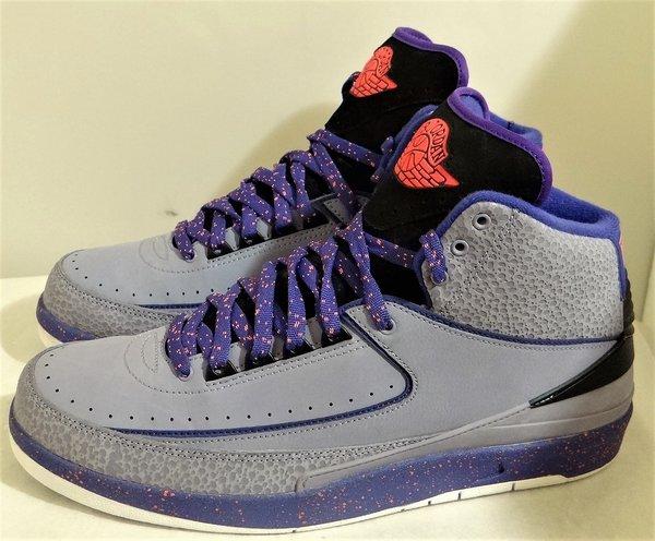 New Air Jordan 2 Iron Purple Size 9 #3753