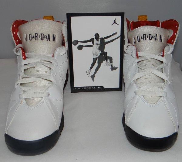 2006 Air Jordan 7 Cardinal Size 5.5 #3014