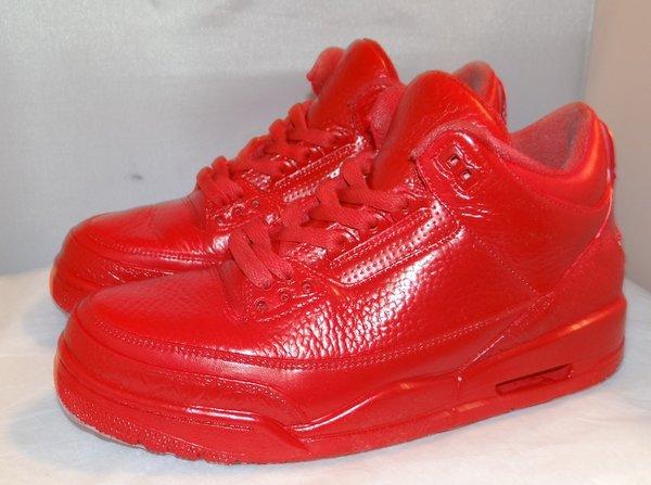 Custom Air Jordan 3 Size 8 #3968