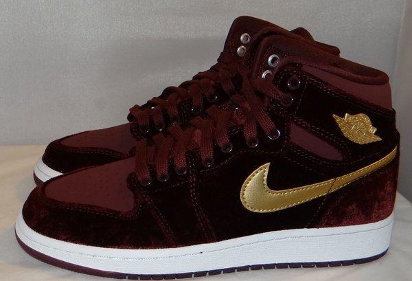 New Air Jordan 1 Velvet Size 5 #3586