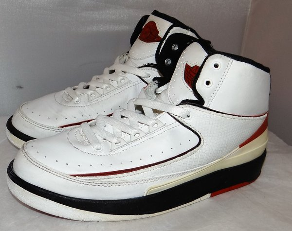 2004 Air Jordan 2 Chicago Size 5.5 #3962