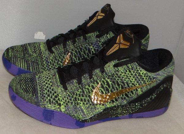New Nike Kobe IX (9) Elite Low iD Mamba Moment Size 11 #4627