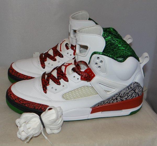 Air Jordan Spizike white Size 11 315371 125 #4558