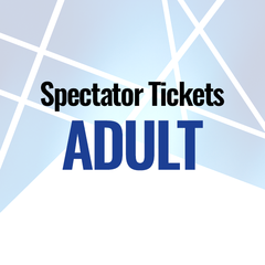 Spectator Ticket (Adult) - 2018 Veteran European Judo Championships