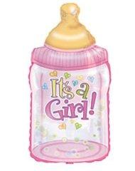"""""""It's a Girl"""" Bottle Balloon"""