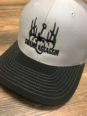 NEW SILVER AND BLACK SWAMP ASSASSIN SNAP BACK