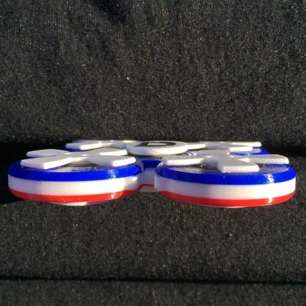 RWB quad 'Doinker' fidget toy