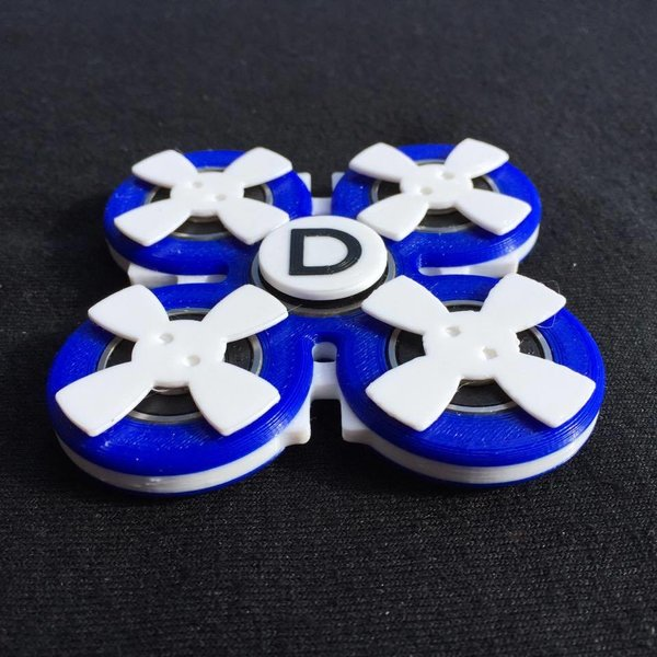 Blueberry Cream quad 'Doinker' fidget toy