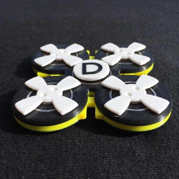 Bumblebee quad 'Doinker' fidget toy