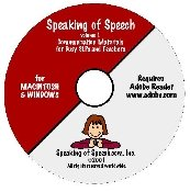 Speaking of Speech CD Volume 1