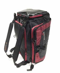 DB1-18 Duffel Bag, Black/Red
