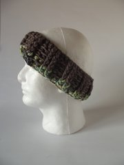 Headband - Rustic and Green mix
