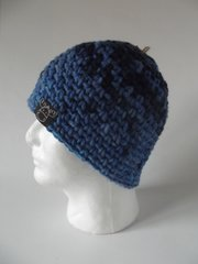 Beanie - Navy, Royal Blue blend