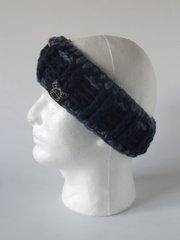 Headband - Navy and Denim