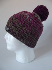 Toque - Rustic, Pink, Plum and Brown blend
