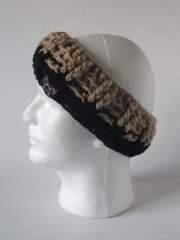 Headband - Beige and Black