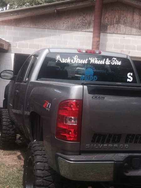 Back glass sm decal southern mudd back glass decals for trucks