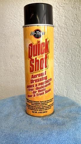 Quick Shot Wet Look Aerosol Tire Amp Trim Detail Spray