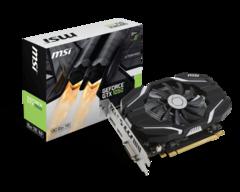 MSI GTX 1050 2 GB OC Edition