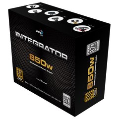 AeroCool Integrator 850w professional power supply 80 plus bronze