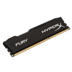 HYPERX FURY BLACK 4GB (1X4GB) DDR3 PC3-12800C10 1600MHZ