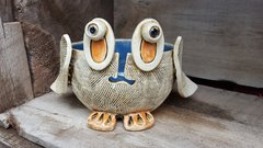 Big eye owl yarn bowl