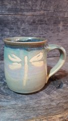Dreamy dragonfly mug