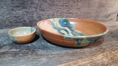 leaf landscape bowl set