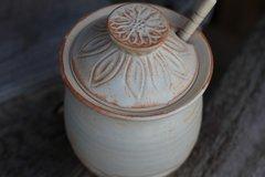 Flower honey pot #2