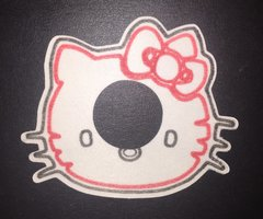 Kitty Design Abbott Freestyle Libre Pro Silly Patch