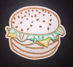 Hamburger Design Omnipod® Silly Patch