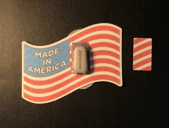 American Flag Design Silly Patch