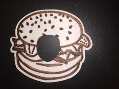 Hamburger Design Animas® Insulin Pump Infusion Site Silly Patch