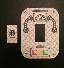 Steam Punk Design Dexcom® Sensor Silly Patch