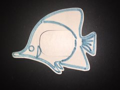 Angel Fish Design Omnipod® Silly Patch