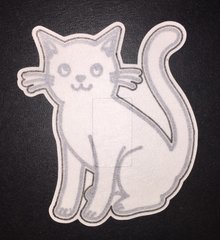 Cat Design Silly Patch