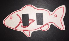 Red Fish Design Medtronic Enlite® Silly Patch
