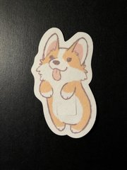 Corgi Design Silly Patch