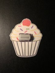Cupcake Design Silly Patch