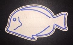 Blue Fish Design Dexcom® Silly Patch