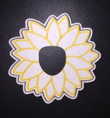 Daisy Design Animas® Insulin Pump Infusion Site Silly Patch