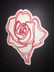Rose Design Omnipod® Silly Patch