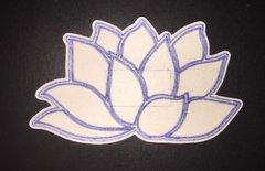Namaste Flower Design Dexcom® Sensor Silly Patch